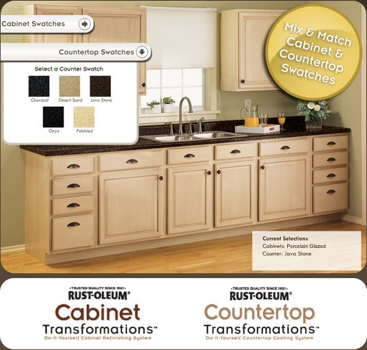 Image Result For Rustoleum Cabinet And Countertop Transformationsa
