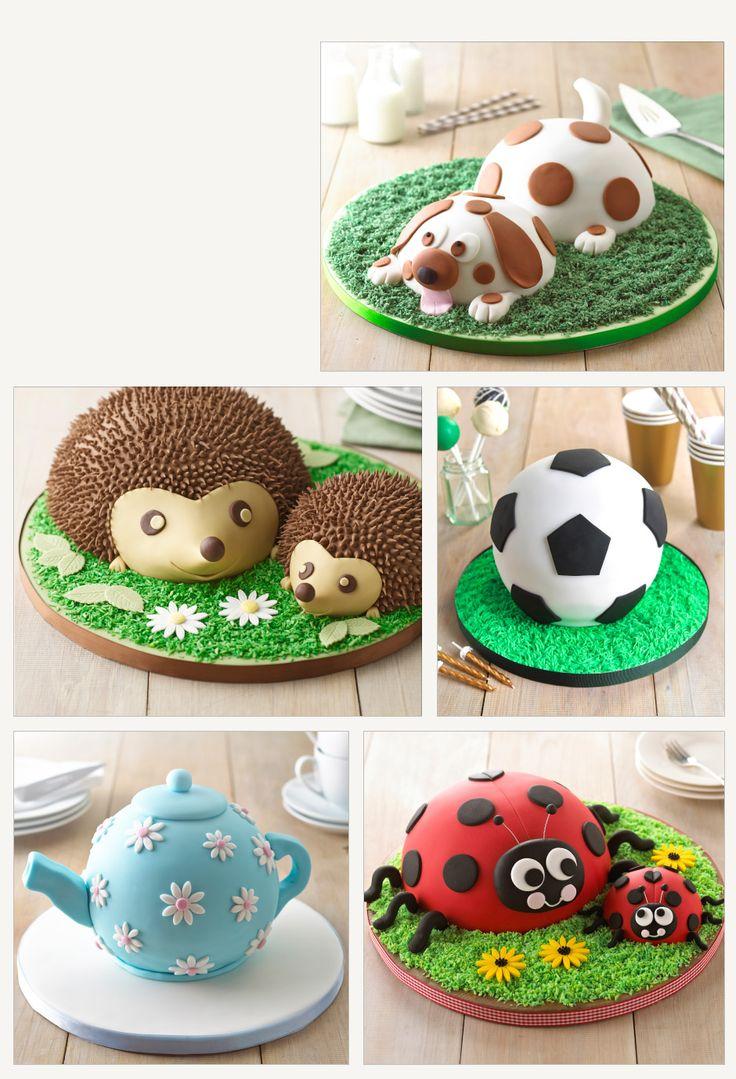 hemisphere cake pans - teapot