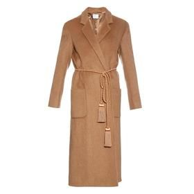 Notch-lapel Coat by Hillier Bartley