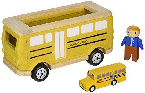 Plan Toys School Bus Playset. #Plan #Toys #School #Playset