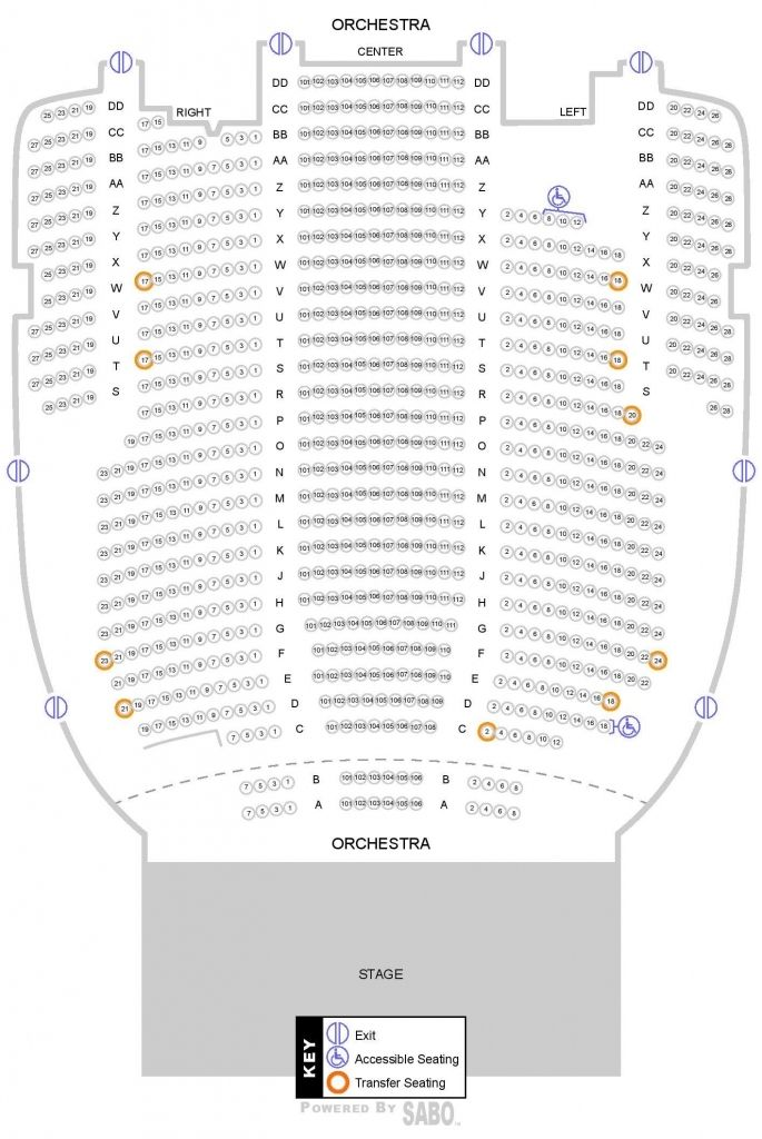 State Theater Cleveland Seating Chart State Theatre Seating Charts Chart