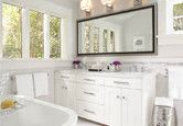 Here are the three most important elements to focus your budget on when remodeling your bathroom.