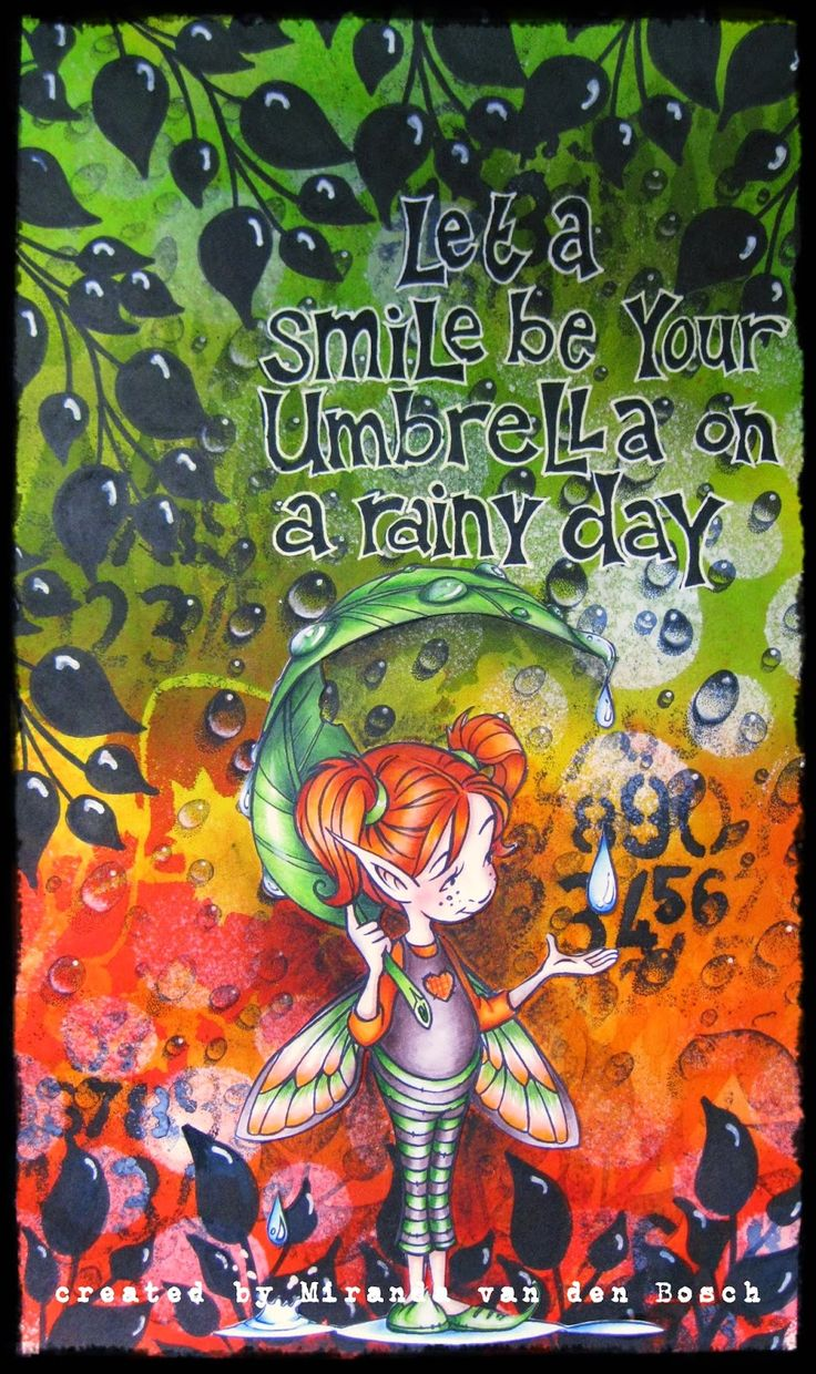 Copic Marker Europe: smile on a rainy day
