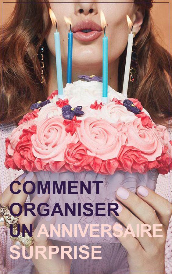 Comment organiser un anniversaire surprise