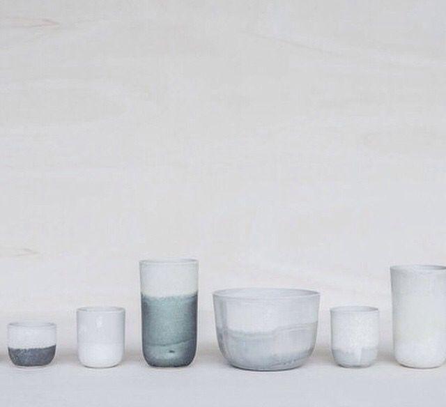 Stunning minimalist pottery.
