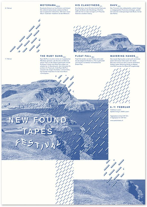 new found tapes poster