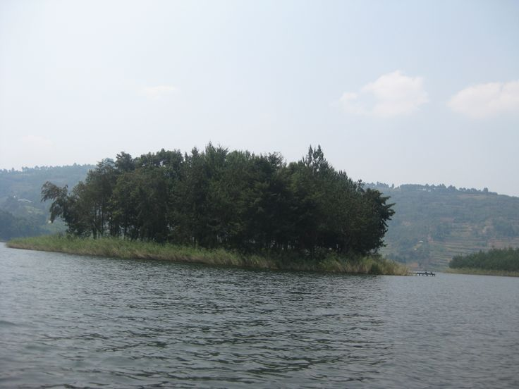 Island on Lake Bunyonyi - South western Uganda.