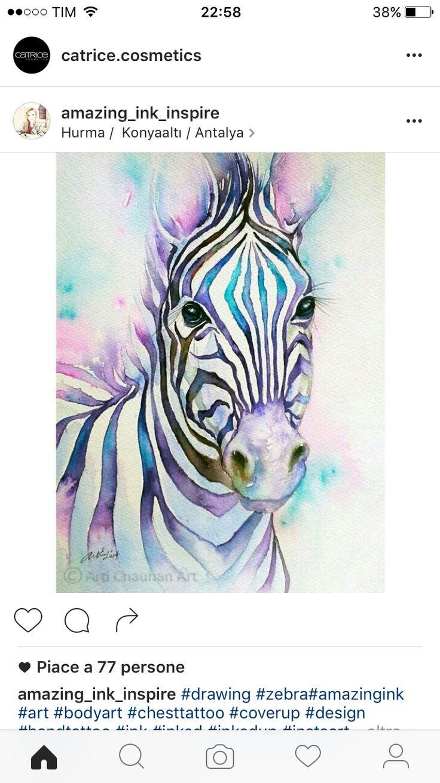 Mandala Zebra Tattoo | Ooooh! Tattoos | Pinterest | Zebra tattoos ...