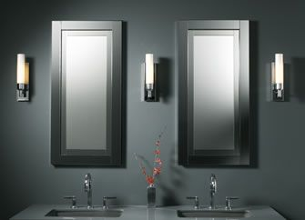 two robern candre medicine cabinet with candre fluorescent sconces sconces meet california title 24