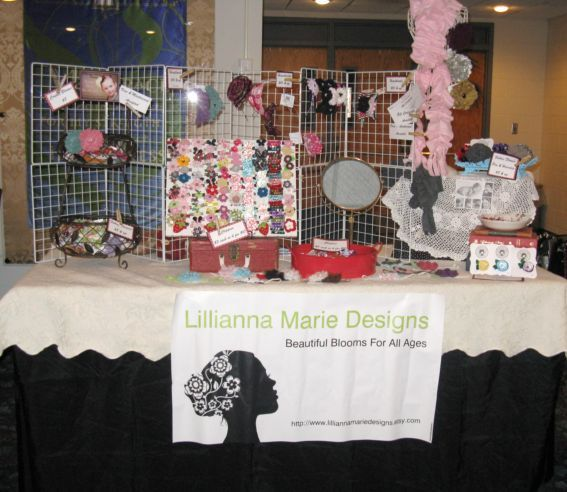 cookie walk craft show table by nicoleritts via flickr