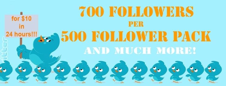 Buy 500 Real Active Twitter Followers, No Bots in 24 hours , Password not needed, Paypal accepted only via 500RealFollowers.com