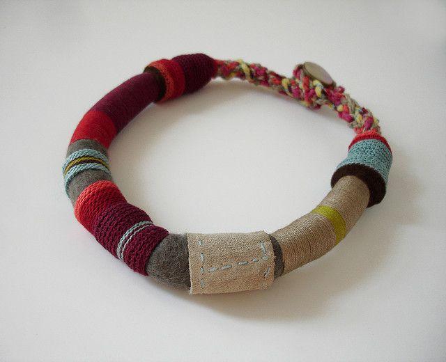 Necklace made by Maria Ribeiro