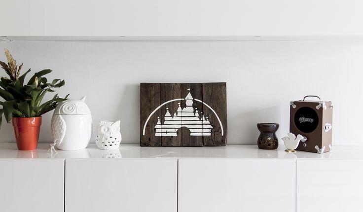 Disney Decoration - Pallet Wood - Reclaimed