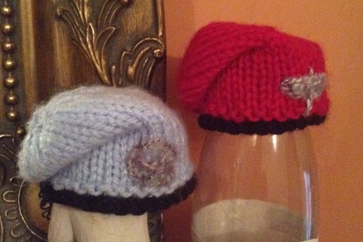 Innocent Smoothies Big Knit Hat Patterns Beret
