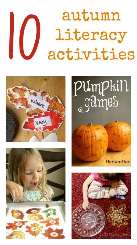 Great autumn literacy activities