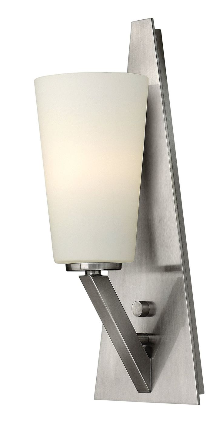 the  best contemporary wall sconces ideas on pinterest  - hinkley lighting bn victory modern  contemporary wall sconce hkbn