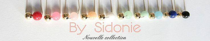 Boutique BySidonie : des bijoux faits main pour les futures mamans (bola de grossesse, sautoirs) et pour toutes les femmes qui aiment la simplicité et la douceur ! A retrouver sur DaWanda.com