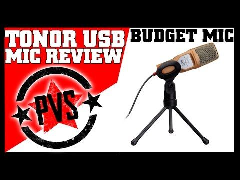Tonor USB Microphone - Review & Sound Test - YouTube