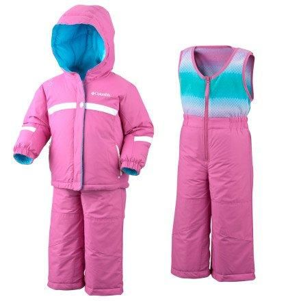 Columbia Snow Brooklyn Reversible Snow Suit - Infant Pink Phlox, 6MO  #Columbia #Apparel
