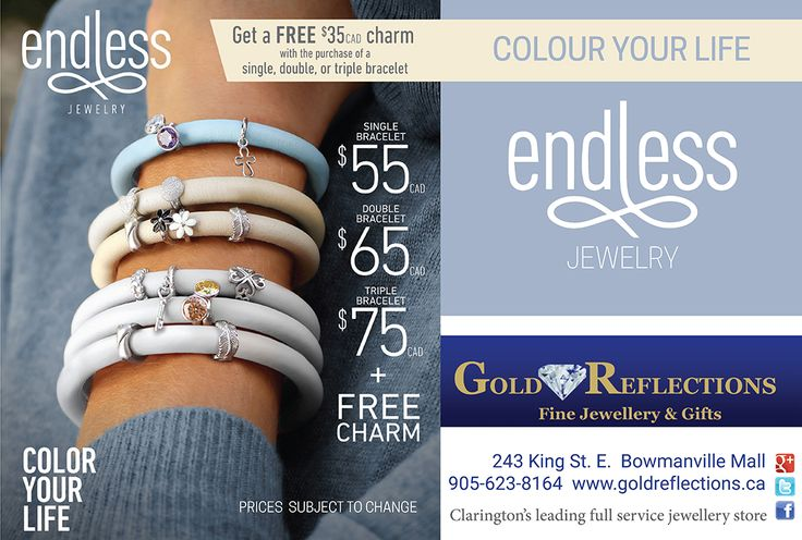 Ad design for Gold Reflections Bowmanville