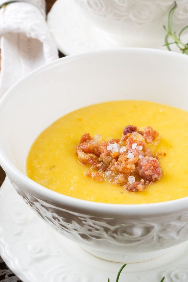 Weight Watchers 5 Smart Points Cheesy Potato Soup with Bacon Recipe