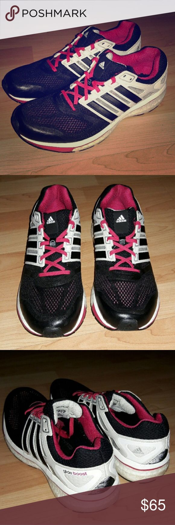 Adidas Supernova Glide Boost 6 Worn a couple of times but I just don't like them as much as the Asics I usually run in. I removed the insoles for hygienic reasons but you can buy new ones for $10 at a sport store. Adidas Shoes Sneakers