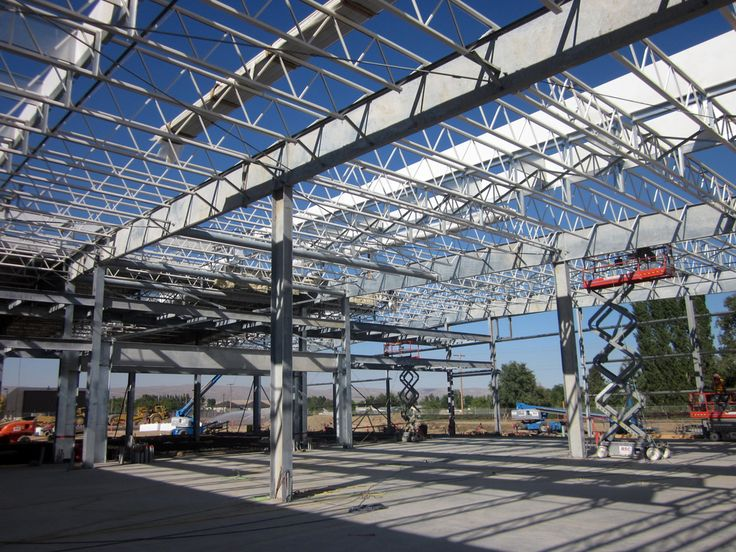 25 best structure steel images on pinterest building for Open web trusses