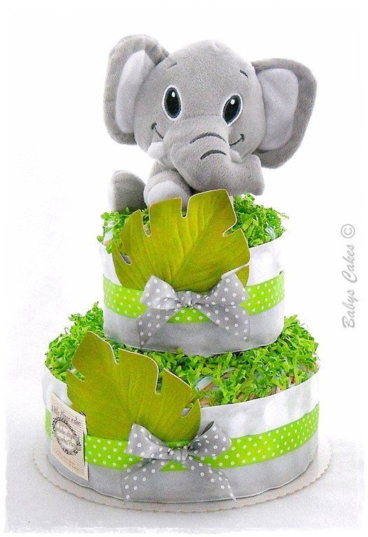 Gateau couches elephant
