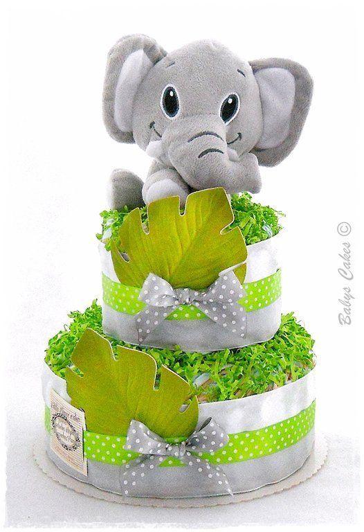 Gateau de couches Little Elmer cake