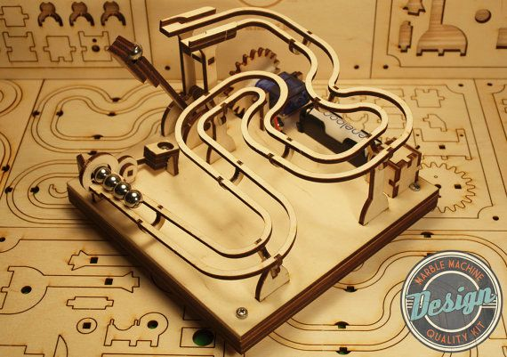 Father's Day Idea: Marble Machine KIT - Build Your Own via Etsy