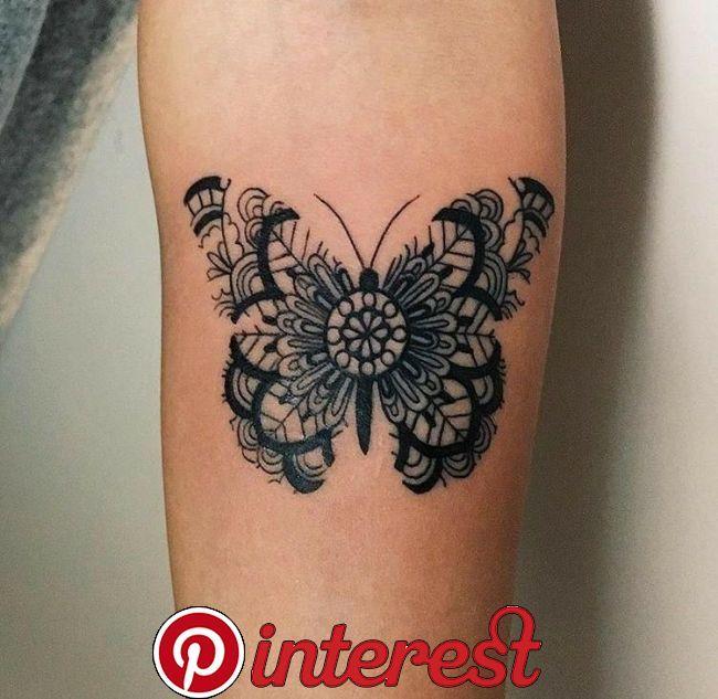 Woman Tattoos Mandalatattoo Tattoos Butterfly Tattoo On