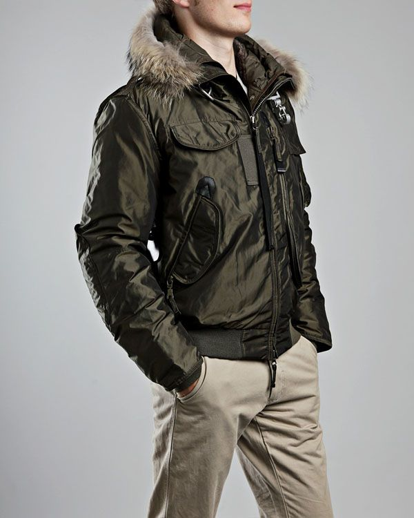 parajumpers mens gobi down bomber jacket