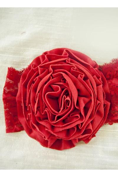 Red Ava Headband