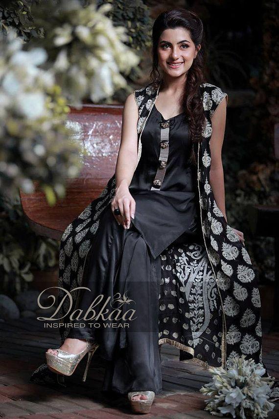 women in black by DesignerDabkaa on Etsy, $120.00