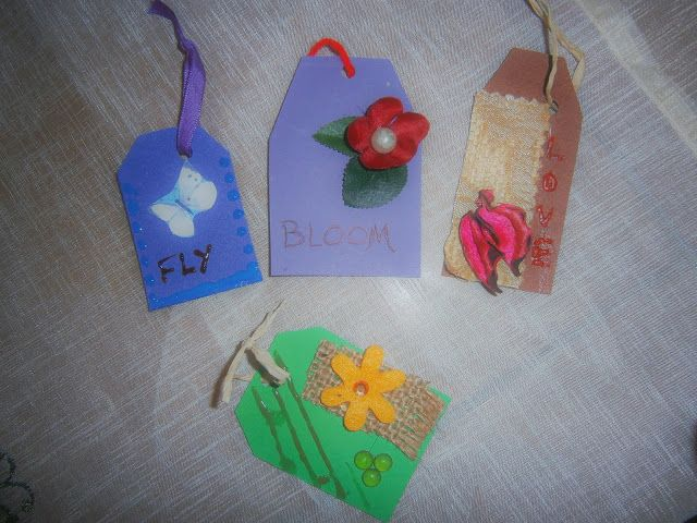 Diy - How to make beautiful tags - Altered