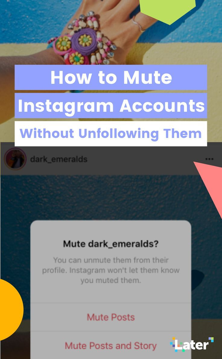 How to Mute Instagram Accounts Without Unfollowing Them