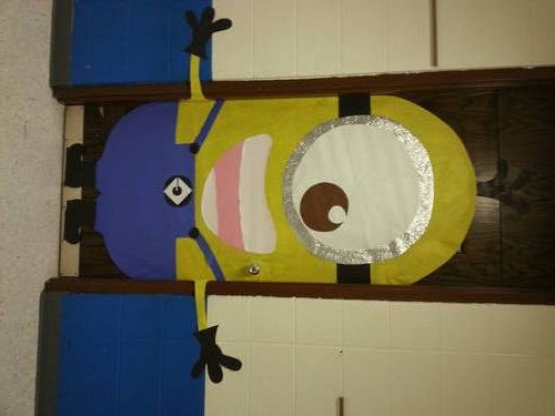 Minion Door Decor - MISCELLANEOUS TOPICS -  My door !! :)