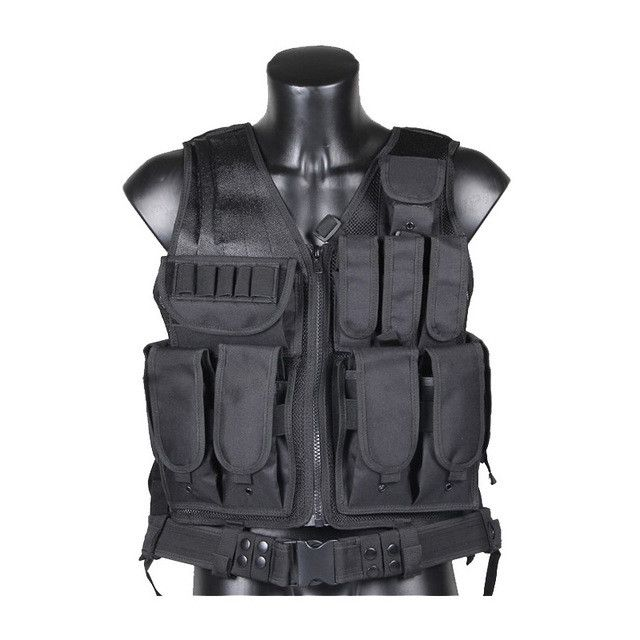Outdoor Police Tactical Vest Camouflage Military Body Armor Sports Wear Hunting Vest Army Swat Molle Vests New