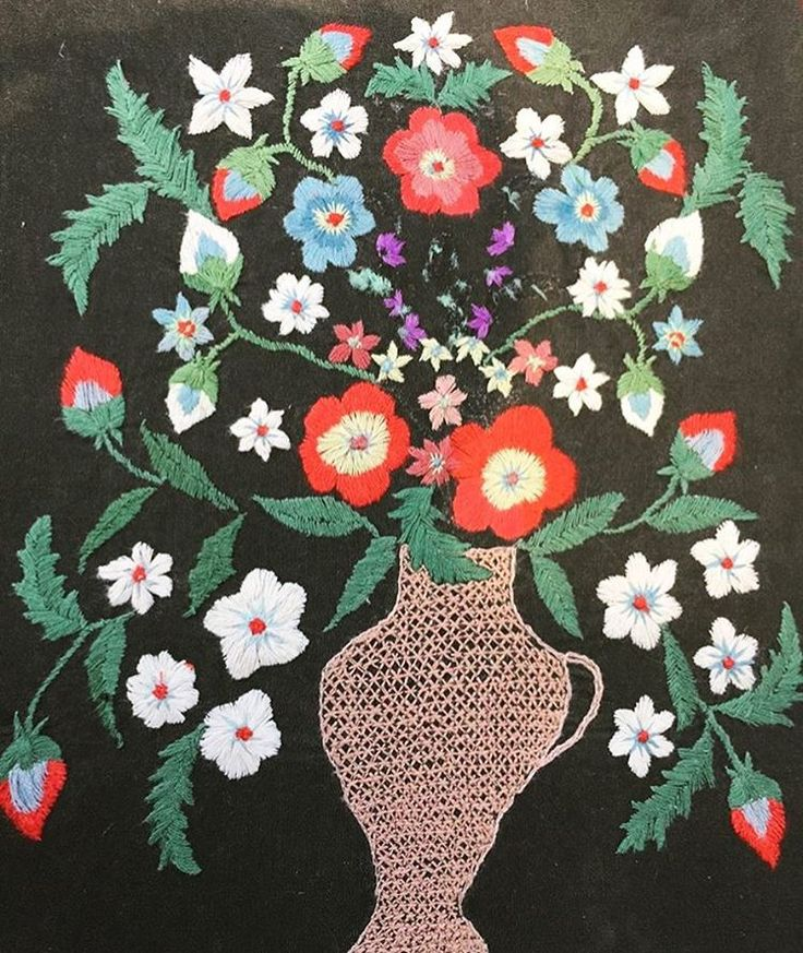 Ukrainian embroidery 1930s from slavicfolkmuseum embroidery
