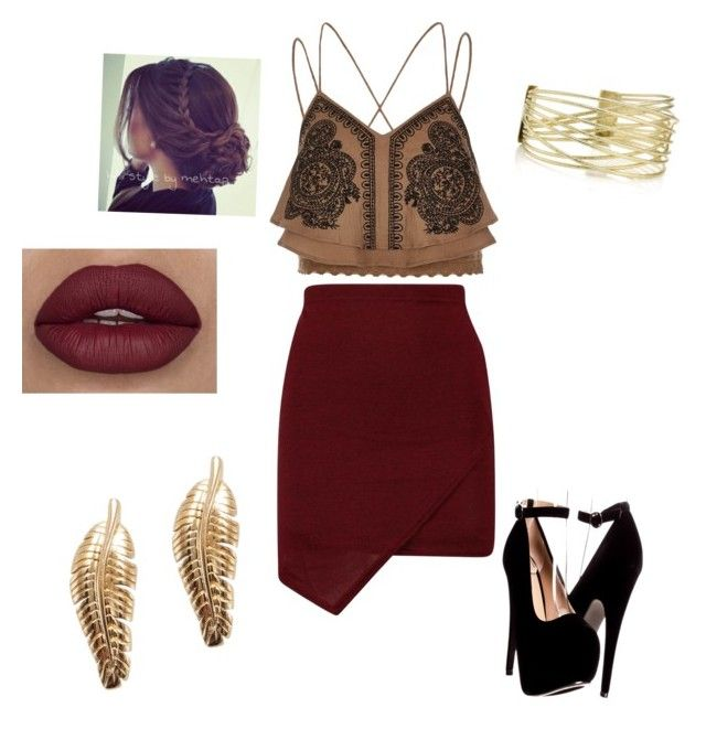 Outfit by nicolepaz1999 on Polyvore featuring polyvore, fashion, style, River Island and clothing