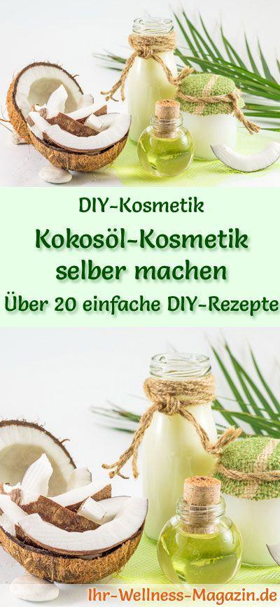 Maak zelf kokosoliecosmetica – 25 recepten en instructies