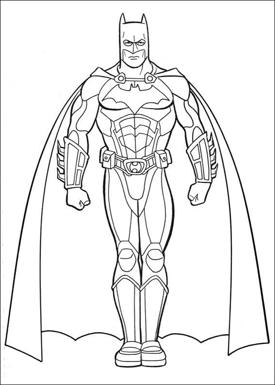 Pictures of batman coloring for kids super hero coloring pages kidsdrawing free coloring pages online