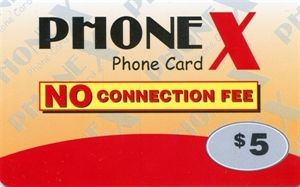 Picture of Phonex Calling Card $5.00