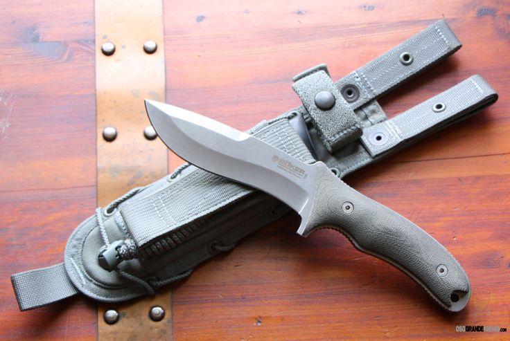 Boker Orca Outdoor Gen 2 Fixed Blade, PlainEdge, Micarta Handle, 120596