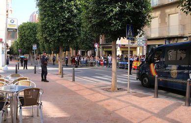 La policia espanyola distingeix els hotels de Tarragona que van allotjar agents per l1-O