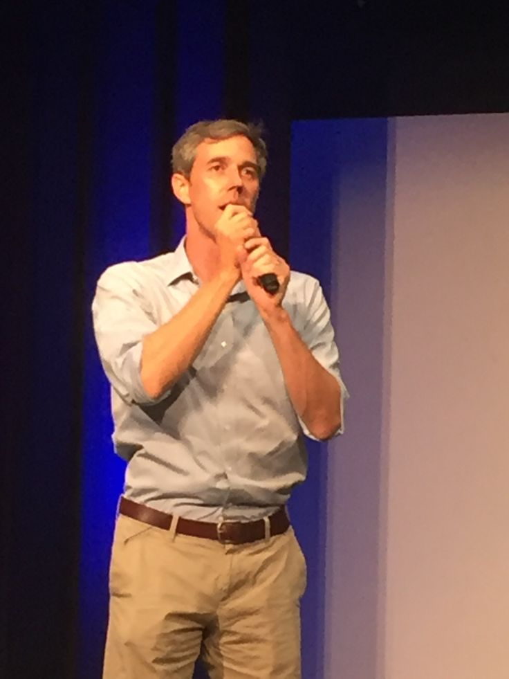 I was here at Beto O'Rourke's town hall, Augus…