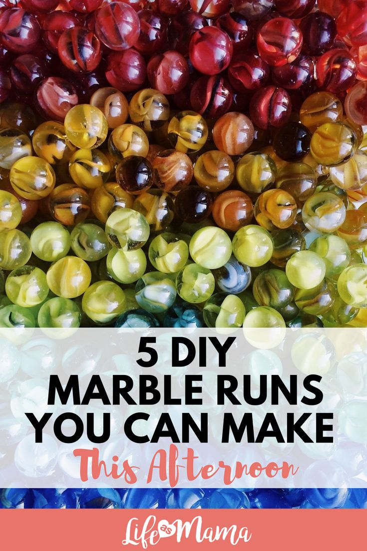 5 DIY Marble Runs You Can Make This Afternoon #marblerun #diy #learningactivities #stem #steam #steamactivities #stemactivities