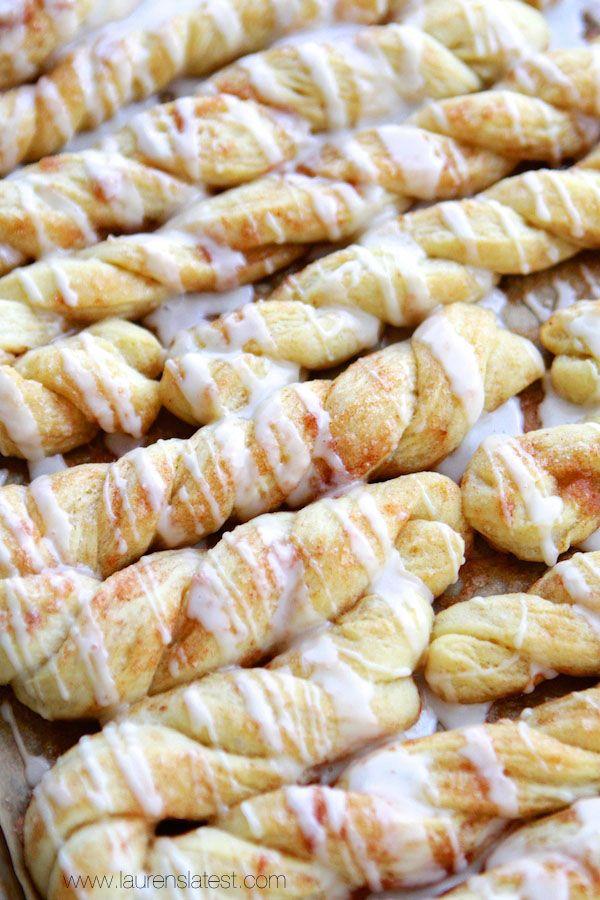 Cinnamon Sugar Twists #food #yummy #delicious