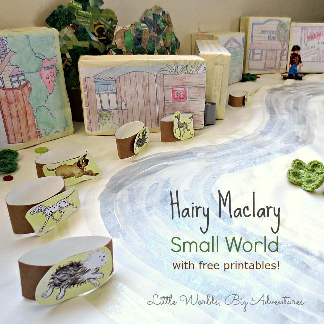 Hairy Maclary Small World Storytelling