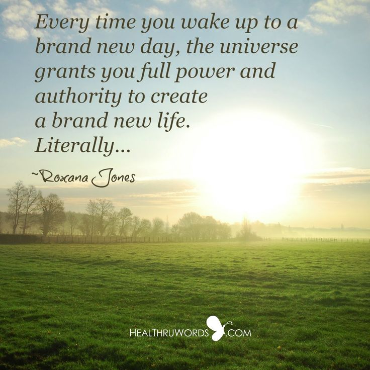 New Day Inspirational Quotes: 25+ Best Brand New Day Ideas On Pinterest